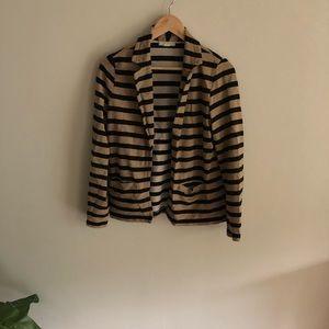 🍂Soft striped blazer